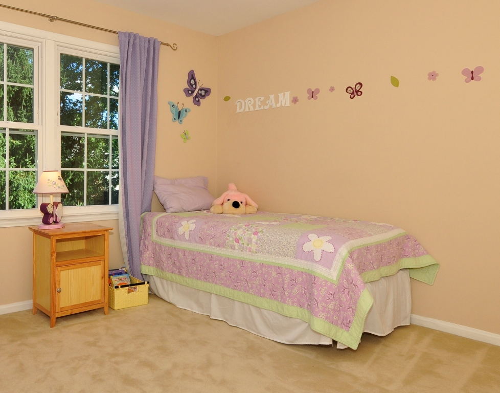 Bedroom Staging staging a child's bedroom - blue diamond staging