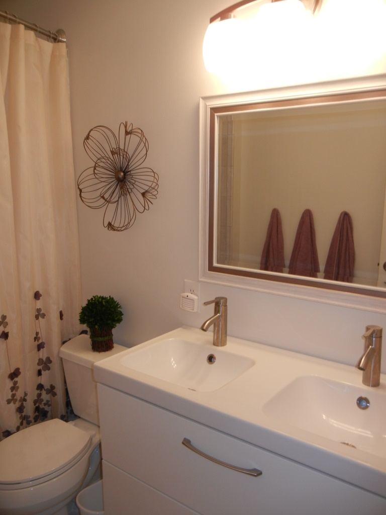 Easy Bathroom Updates Blue Diamond Staging