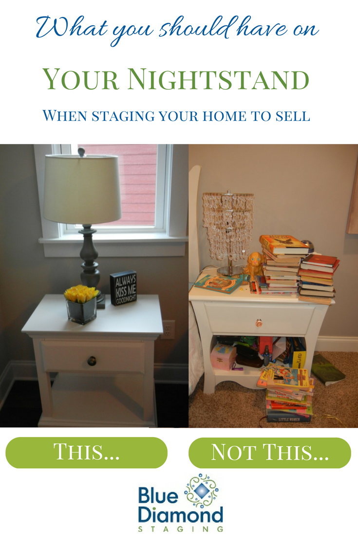 nightstand staging